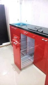 Kitchen Set Merah