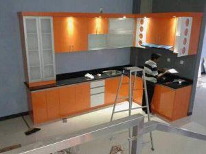 Kitchen Set Orange