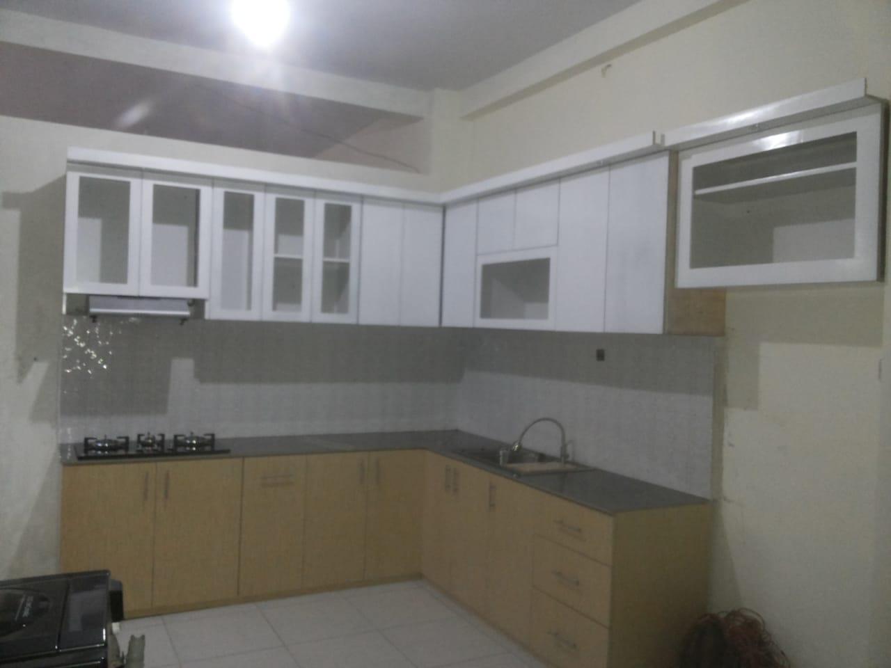 Kitchen Set Putih Minimalis Jasa Kitchen Set Bekasi Jasa
