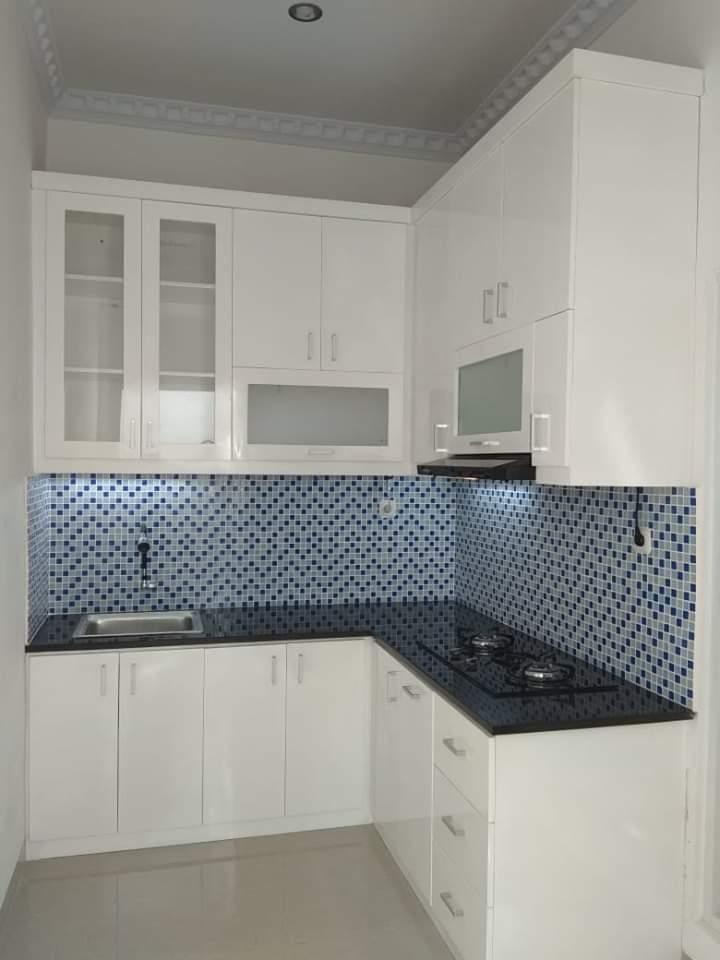 Kitchen Set Putih Minimalis Jasa Kitchen Set Bekasi