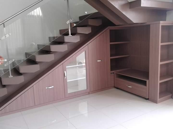 lemari bawah tangga - Lemari Bawah Tangga Minimalis
